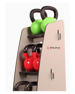 MF® Mueble Kettlebells 6 unidades fenólico