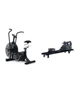 Titanium Strength Pack AirBike + Acqua Rower PRO