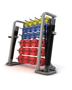JORDAN Set 30 Body Pump + Rack