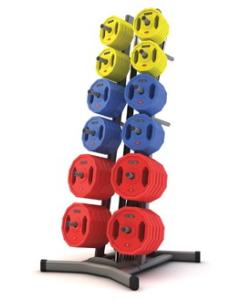 JORDAN Set de 12 Body Pump + Rack