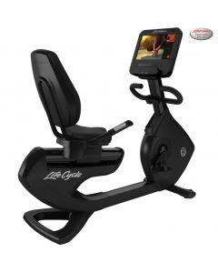 Life Fitness Platinum Reclinada con Consola SE3 HD - Black Onyx