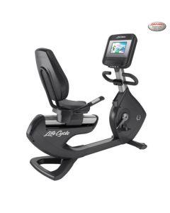 Life Fitness Platinum Club Series Bicicleta Reclinada Discover SI