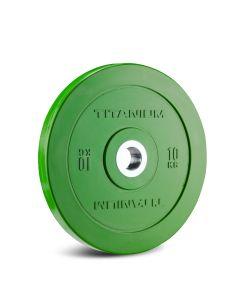 Titanium Strength HD Bumper Plates Colour 10 KG