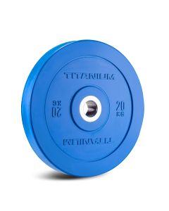 Titanium Strength HD Bumper Plates Colour 20 KG
